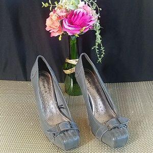 Grey Heels by Dollhouse